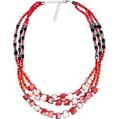 NASZYJNIK RED&BLACK QUIOSQUE. Czerwone naszyjniki damskie QUIOSQUE. W wyprzedaży za 5,99 zł.