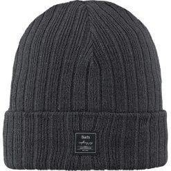 Barts - Czapka Parker. Szare czapki zimowe męskie marki Barts, na zimę, z dzianiny. W wyprzedaży za 69,90 zł.