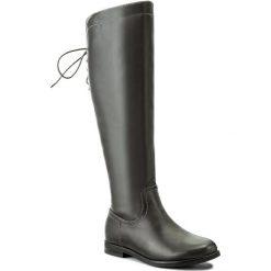 Oficerki JENNY FAIRY - WS16015-10 Szary. Szare buty zimowe damskie Jenny Fairy, ze skóry ekologicznej, na obcasie. Za 139,99 zł.