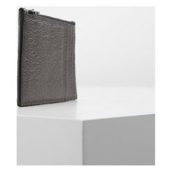 Portfele męskie: Coach Portfel graphite metallic