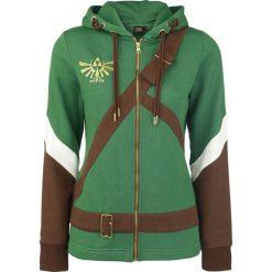 The Legend Of Zelda Cosplay Zip-Hoodie Bluza z kapturem rozpinana damska wielokolorowy. Zielone bluzy rozpinane damskie The Legend Of Zelda, l, z aplikacjami, z długim rękawem, długie, z kapturem. Za 244,90 zł.
