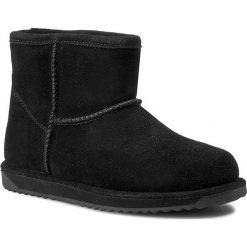 Buty EMU AUSTRALIA - Paterson Mini W10946 Black 2015. Czarne buty zimowe damskie EMU Australia, z wełny. W wyprzedaży za 399,00 zł.