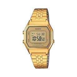 Zegarek Casio Zegarek damski Retro złoty (LA680WEGA-9ER). Żółte zegarki damskie CASIO, złote. Za 270,00 zł.