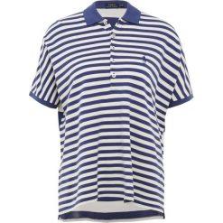 Bluzki damskie: Polo Ralph Lauren DRAPEY MESH Koszulka polo deckwash white