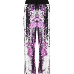 Spodnie dresowe damskie: Jaded London WIDE LEG SEQUIN WITH DETAIL FLIP Spodnie treningowe silver/pink