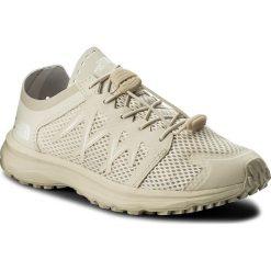 Buty THE NORTH FACE - Litewave Flow Lace T92VV2K82 Vintage White/Vintage White. Brązowe buty do biegania damskie The North Face, z materiału. W wyprzedaży za 259,00 zł.