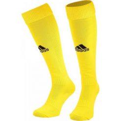 Skarpetogetry piłkarskie: Adidas Getry piłkarskie Santos 3-Stripes żółte r. 37-39 (AO4076)