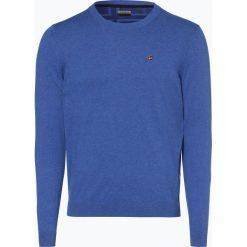 Swetry męskie: Napapijri – Sweter męski – Noyhe6, niebieski