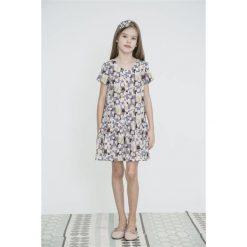 Sukienki dziewczęce: LAURA Tunika, pastelowy, geometryczny wzór