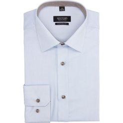 Koszula bexley 2677 długi rękaw custom fit niebieski. Niebieskie koszule męskie Recman, m, z długim rękawem. Za 139,00 zł.