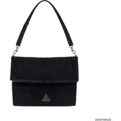 Damska torba na ramię w czarnym kolorze. Czarne torebki klasyczne damskie Pakamera. Za 119,00 zł.