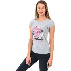 4f Koszulka damska H4Z17-TSD002 szara r. S. Szare bluzki z odkrytymi ramionami marki 4f, s. Za 39,99 zł.