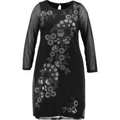 Sukienki hiszpanki: Evans CAVIAR PRINT DRESS Sukienka letnia black