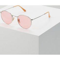 RayBan ROUND METAL Okulary przeciwsłoneczne silvercoloured. Szare okulary przeciwsłoneczne damskie lenonki marki Ray-Ban. Za 719,00 zł.