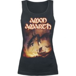 Topy damskie: Amon Amarth On A Sea Of Blood Top damski czarny