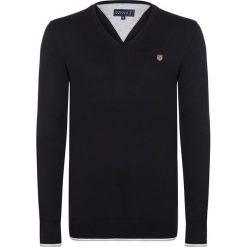 """Swetry klasyczne męskie: Sweter """"Bye"""" w kolorze czarnym"""