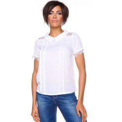 """T-shirty damskie: Koszulka """"Pascale"""" w kolorze białym"""