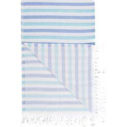 Chusta hammam w kolorze niebiesko-turkusowym - 180 x 100 cm. Czarne chusty damskie marki Hamamtowels, z bawełny. W wyprzedaży za 43,95 zł.