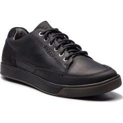 Półbuty KEEN - Glenhaven Sneaker 1019513 Black. Czarne półbuty skórzane męskie marki Keen. W wyprzedaży za 279,00 zł.
