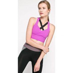 Reebok - Biustonosz. Szare biustonosze sportowe marki Reebok, z elastanu. W wyprzedaży za 159,90 zł.