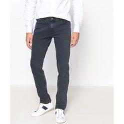 Dżinsy slim. Szare jeansy męskie slim La Redoute Collections. Za 141,08 zł.