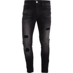 Jeansy męskie regular: Religion WRECK  Jeans Skinny Fit storno wash