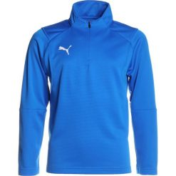 Puma LIGA TRAINING ZIP  Koszulka sportowa electric blue lemonade/puma white. Białe bluzki dziewczęce z długim rękawem marki UP ALL NIGHT, z bawełny. Za 169,00 zł.