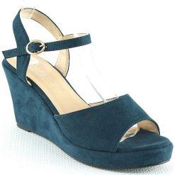 Sandały damskie: Sandały w kolorze niebieskim