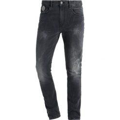 Scotch & Soda SKIM  Jeans Skinny Fit dragster. Czarne jeansy męskie Scotch & Soda, z bawełny. Za 509,00 zł.