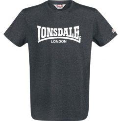 Lonsdale London Padworth T-Shirt odcienie czarnego. Czarne t-shirty męskie marki Lonsdale London, s, z aplikacjami, z okrągłym kołnierzem. Za 42,90 zł.