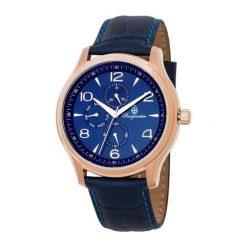 """Zegarki męskie: Zegarek """"Montpellier"""" w kolorze niebieskim"""