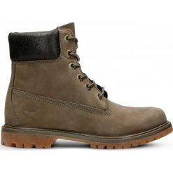 Buty Timberland 6 Inch Premium Boot Women (A1HZM). Brązowe buty sportowe damskie marki Timberland, z materiału, outdoorowe. Za 499,99 zł.