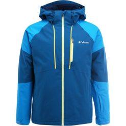 Columbia GITBACK Kurtka narciarska phoenix blue/dark compass. Niebieskie kurtki narciarskie męskie Columbia, l, z materiału. W wyprzedaży za 999,20 zł.