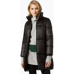 S.Oliver Casual - Damski płaszcz pikowany, czarny. Czarne płaszcze damskie s.Oliver Casual, s, casualowe. Za 299,95 zł.