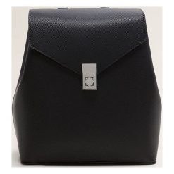 Mango - Torebka Mera. Czarne shopper bag damskie Mango, w paski, z materiału, duże. Za 89,90 zł.