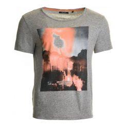 T-shirty męskie: Mustang T-Shirt Męski Xxl Szary