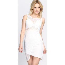 Sukienki: Biała Sukienka Start A Fire