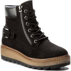 Botki TAMARIS - 1-25289-29 Black 001. Czarne buty zimowe damskie marki Tamaris, z materiału. W wyprzedaży za 179,00 zł.