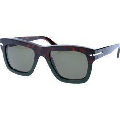 """Okulary przeciwsłoneczne męskie: Okulary przeciwsłoneczne """"V702S"""" w kolorze brązowo-czarnym"""