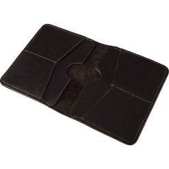 Cienki skórzany męski portfel SOLIER SLIM BRĄZ RACHEL. Czarne portfele męskie marki Solier, z materiału. Za 79,90 zł.