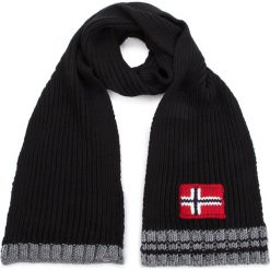 Szal NAPAPIJRI - Foreil N0YGTJ Black 041. Czarne szaliki damskie marki Napapijri, z materiału. W wyprzedaży za 239,00 zł.