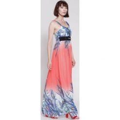 Sukienki: Koralowa Sukienka Best Summer