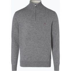 Swetry klasyczne męskie: Tommy Hilfiger – Sweter męski, szary