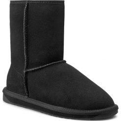 Buty EMU AUSTRALIA - Platinum Stinger Lo WP10002 Black. Czarne buty zimowe damskie EMU Australia, ze skóry. W wyprzedaży za 429,00 zł.