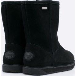 Emu Australia - Botki Paterson Classic. Czarne botki damskie na obcasie EMU Australia, z gumy, z okrągłym noskiem. Za 799,90 zł.