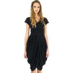 Odzież damska: Sukienka Rabarbar w kolorze czarnym