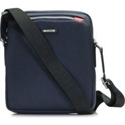 86-4U-201-7 Torba. Niebieskie torby na ramię męskie Wittchen, w paski, z nylonu. Za 259,00 zł.