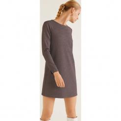 Mango - Sukienka Victoria. Szare długie sukienki marki Mango, na co dzień, l, z tkaniny, casualowe, z dekoltem halter, na ramiączkach, rozkloszowane. Za 119,90 zł.