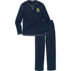 Piżama bonprix ciemnoniebieski. Niebieskie piżamy męskie bonprix, l. Za 59,99 zł.