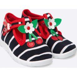 Befado - Tenisówki dziecięce. Szare buty sportowe dziewczęce marki Befado, z materiału. W wyprzedaży za 27,90 zł.